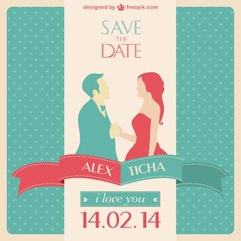 Бесплатно приглашение на свадьбу векторный графический