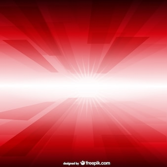Red and white glow background