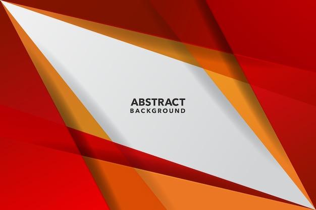 Красный и желтый современный абстрактный фон