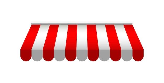 赤い日よけショップレストランキャノピーヴィンテージストアルーフサマーテント
