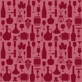 Red background about wine