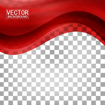 빨간색 배경 곡선