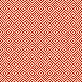Red background endless east diagonal pattern