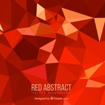 Красный фон в абстрактном стиле