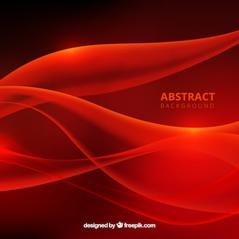 Red background in abstract style