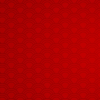 Red background with abstract patterns