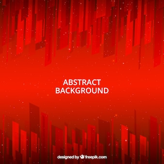 Red background with abstract style
