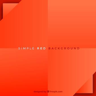 フラットデザインの赤い背景
