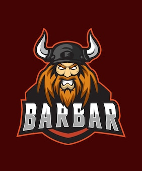Red barbar logo