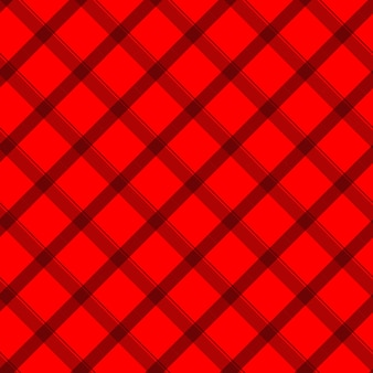 Red and black gingham seamless pattern
