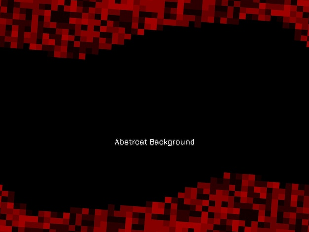Red and black mosaic pattern background