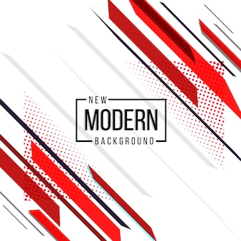 Red and black theme new modern abstract design background