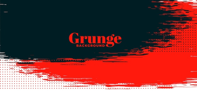 Red, black and white grunge texture background