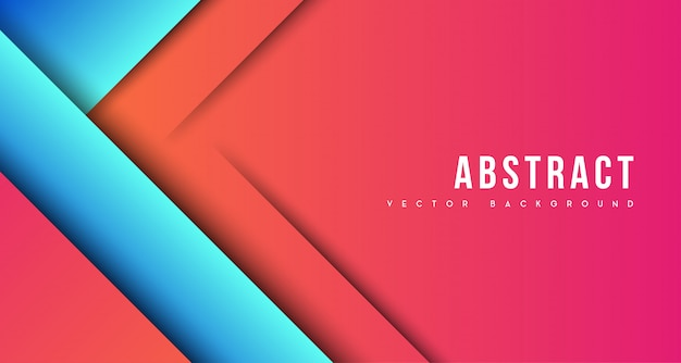 Red blue business background awesome