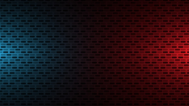 Red and blue wall background