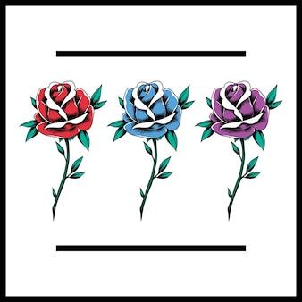 Красный блюз фиолетовый роза цветы цветение иконка