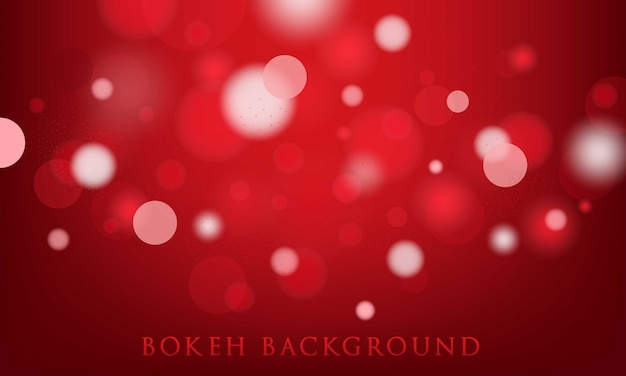 Red bokeh background, abstract, light texture
