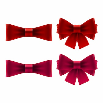 Red bow icons