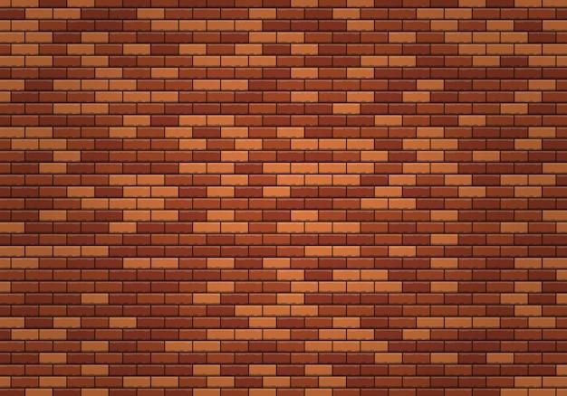 붉은 벽돌 패턴 만화 붉은 벽돌 벽 디자인 요소 플랫 벽 텍스처