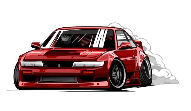 赤いカースポーツ