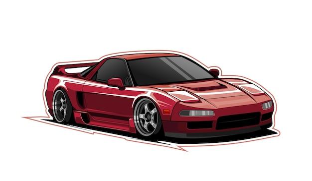 Red car sport