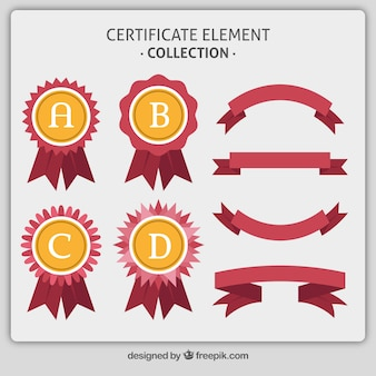 Red certificate element collection