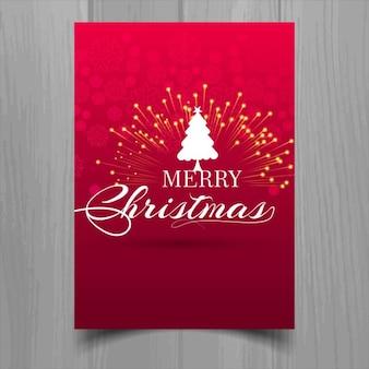 花火レッドクリスマスのパンフレット