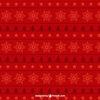 Red christmas pattern