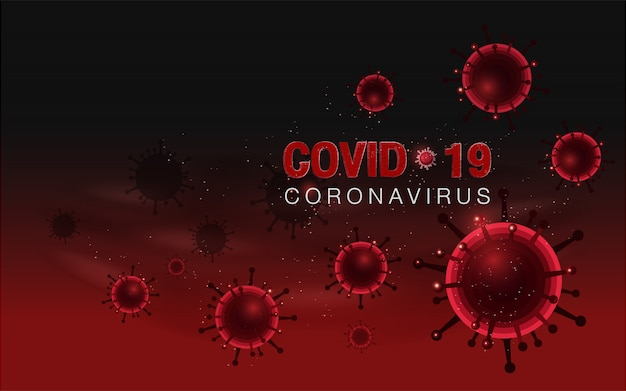 Red coronavirus