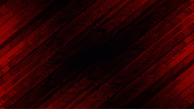 Red crossover background with abstract spotted