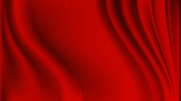 Красный занавес реалистичный роскошный фон