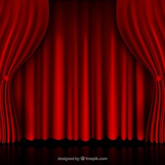 レッドカーテン