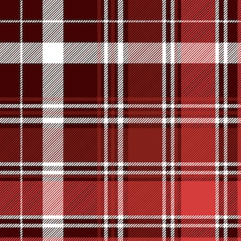 Red diagonal abstract plaid seamless pattern