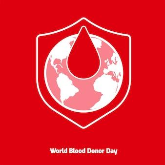 빨간 기증자의 날 세계 헌혈자의 날 헌혈 인명 구조 및 병원 지원