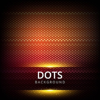 Red dots background