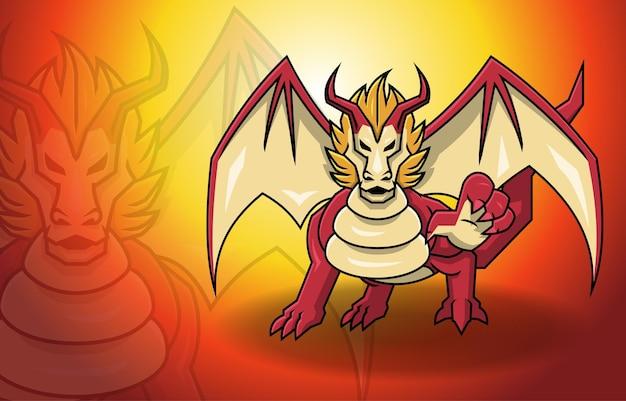 Red dragon wings 판타지 신화 괴물 전설 생물
