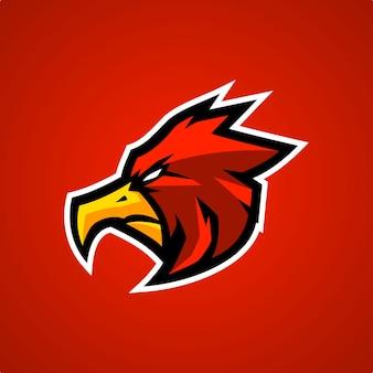 Red eagle esports logo