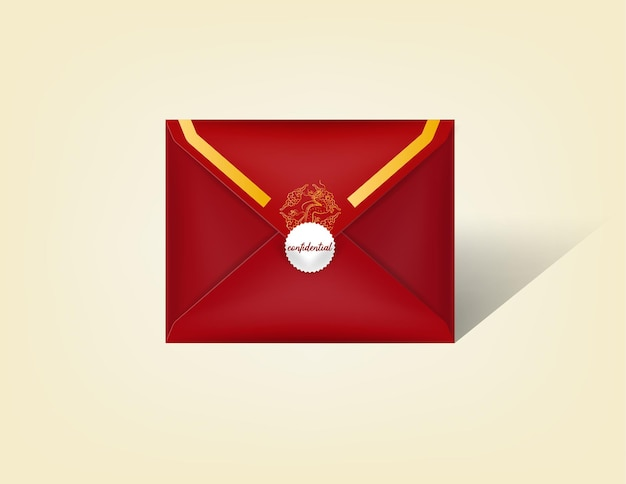 赤い包み。