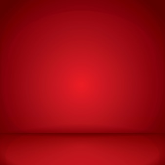 Red floor and wall background