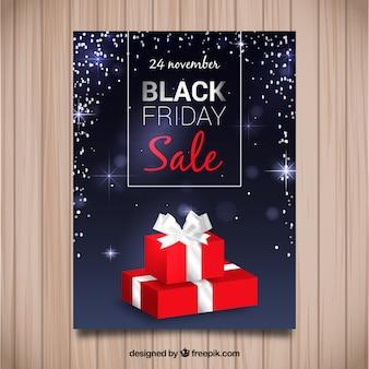 Red friday black friday gift brochure