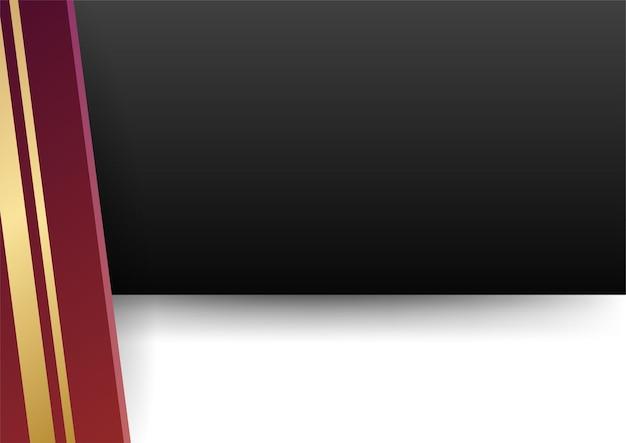 白い背景の上の赤い金の抽象的な幾何学的形状。プレゼンテーションの背景、バナー、webランディングページ、ui、モバイルアプリ、編集デザイン、チラシ、バナー、およびその他の関連する機会に適しています