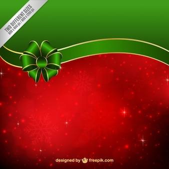 Rosso e verde natale sfondo