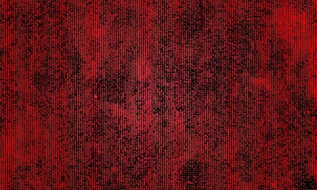 赤いグランジパターンの背景