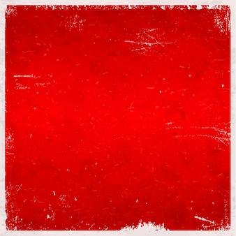 赤い汚れた背景