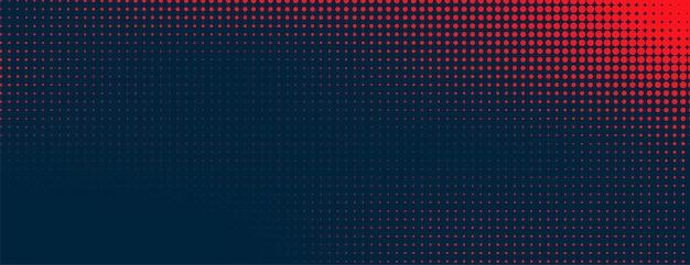 Red halftone pattern on dark background