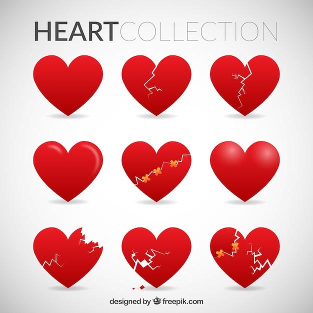 broken heart vectors photos and psd files free download rh freepik com broken heart vector art broken heart vector free