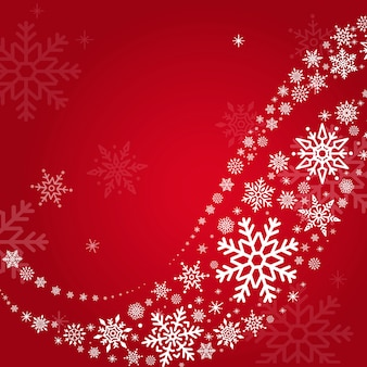 Red holiday design background