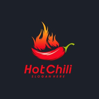 Дизайн логотипа red hot chili