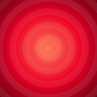 Red hypnotic abstract background