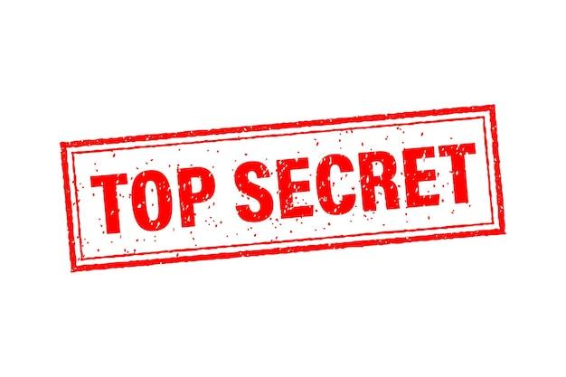 Красный значок с совершенно секретной концепцией